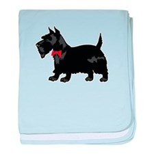 Scottish Terrier baby blanket