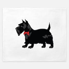 Scottish Terrier King Duvet