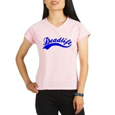 Team Deadlift Blue Performance Dry T-Shirt
