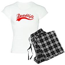 Team Deadlift Red Pajamas