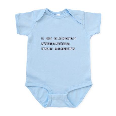 I am silently correcting your grammar - kon Infant