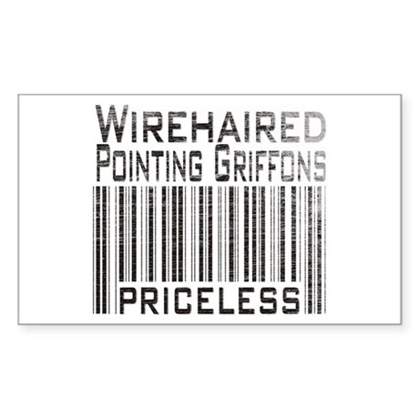 Wirehaired Pointing Griffons Rectangle Sticker