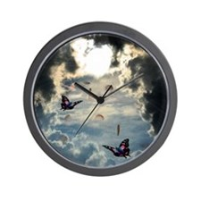 Pennies From Heaven Wall Clock