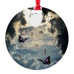 Pennies From Heaven Round Ornament