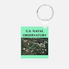 naval observatory Keychains