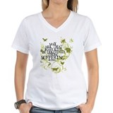 Animal rights Womens V-Neck T-shirts