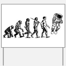 Astronaut Evolution Yard Sign