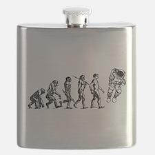 Astronaut Evolution Flask