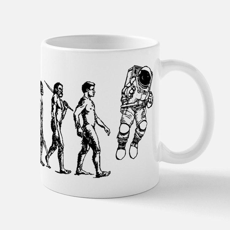 Astronaut Evolution Mug