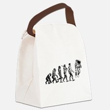 Astronaut Evolution Canvas Lunch Bag