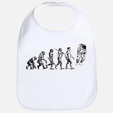 Astronaut Evolution Bib