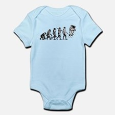Astronaut Evolution Infant Bodysuit