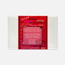 Aries Birthday Rectangle Magnet