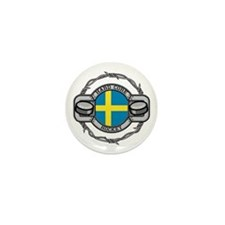 Sweden Hockey Mini Button (10 pack)