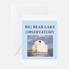 big,bear,lake Greeting Card