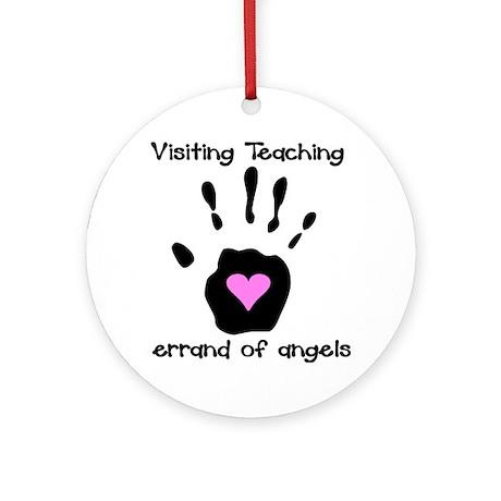 Visiting Teaching Ornament (Round)