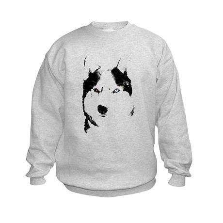 Husky Gifts Bi-Eye Husky Shirts & Gifts Kids Sweat