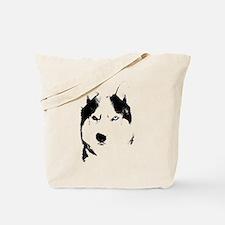 Husky Gifts Bi-Eye Husky Shirts & Gifts Tote Bag