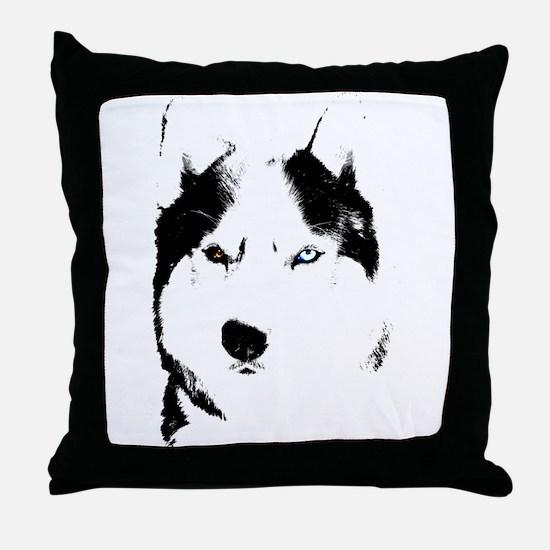 Husky Gifts Bi-Eye Husky Shirts & Gifts Throw Pill