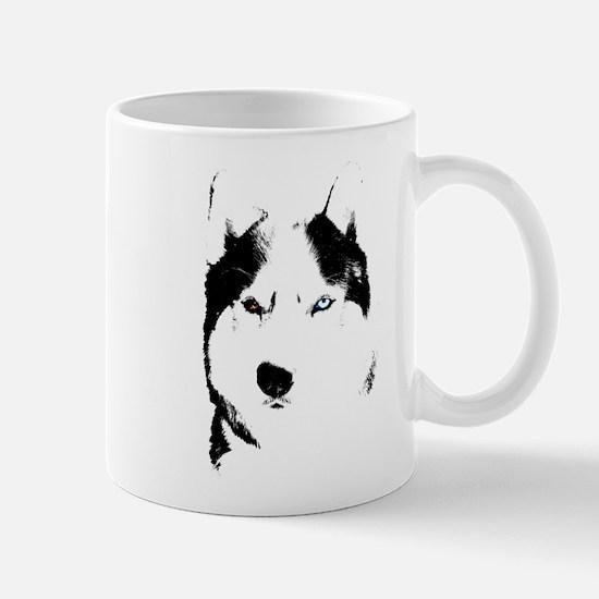 Husky Gifts Bi-Eye Husky Shirts & Gifts Mug