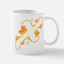 Unique Burning crosses Mug