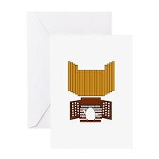 Organist Greeting Card