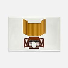 Organist Rectangle Magnet