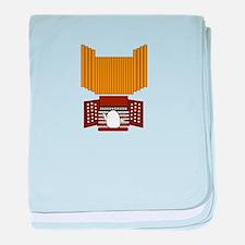 Organist baby blanket