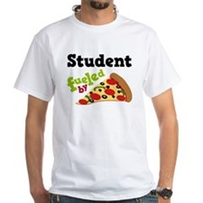 Student Fueled By Pizza Shirt