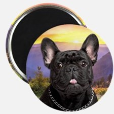 French Bulldog Meadow Magnet