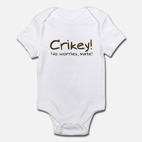 No Worries, Mate! Infant Bodysuit