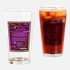 CAPRICORN BIRTHDAY Drinking Glass