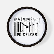 Welsh Springer Spaniels Wall Clock