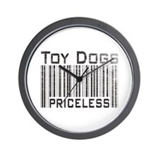 Toy Dogs Wall Clock