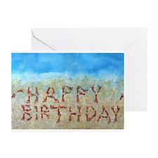 Beach Foot Print Message