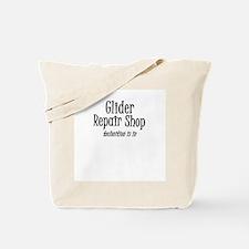Glider Repair/Drill sargeant Tote Bag