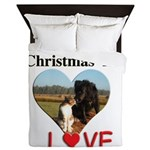 Christmas Love Queen Duvet