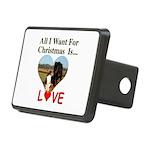 Christmas Love Rectangular Hitch Cover