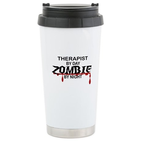 Therapist Zombie Stainless Steel Travel Mug