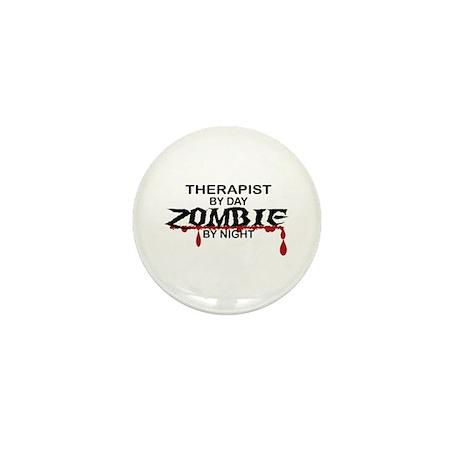 Therapist Zombie Mini Button (10 pack)