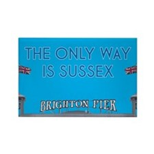 The Only Way is Sussex Rectangle Magnet