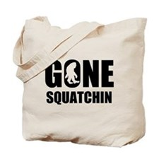 Gone sqautchin Tote Bag