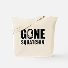 Gone sqautchin Tote Bag