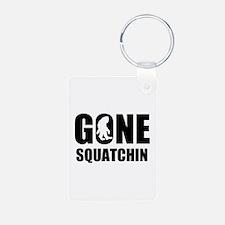 Gone sqautchin Keychains