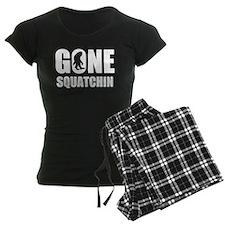 Gone sqautchin Pajamas