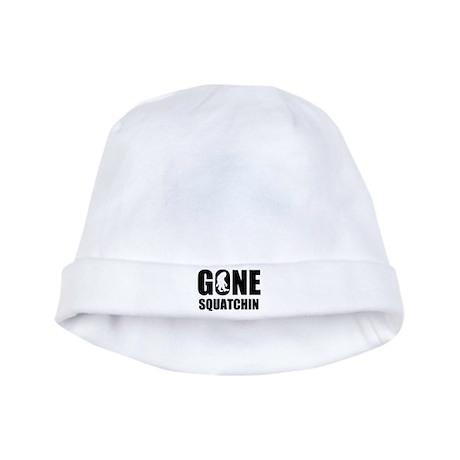 Gone sqautchin baby hat
