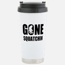 Gone sqautchin Stainless Steel Travel Mug