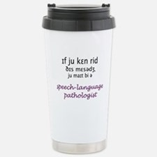 Speech language pathology Travel Mug