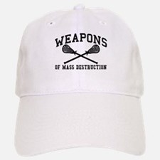 Lacrosse Weapons of Mass Destructions Baseball Baseball Cap