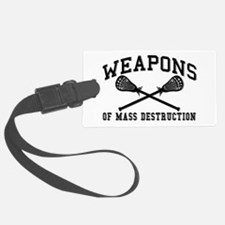 Lacrosse Weapons of Mass Destructions Luggage Tag